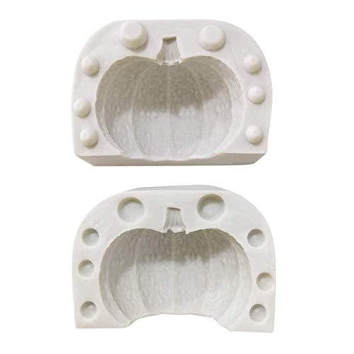 TheStriven Halloween 3D Molde Calabaza Silicona Halloween Molde Silicona Molde Calabaza Diseño...