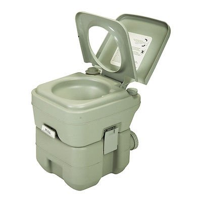 Tobbi 5 Gal 20L Portable Outdoor/Indoor Portable Toilet for RV, Marine, Camping, Healthcare