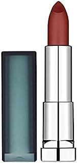 メイベリンカラーセンセーショナルなマット口紅975神のワイン x4 - Maybelline Color Sensational Matte Lipstick 975 Divine Wine (Pack of 4) [並行輸入品]