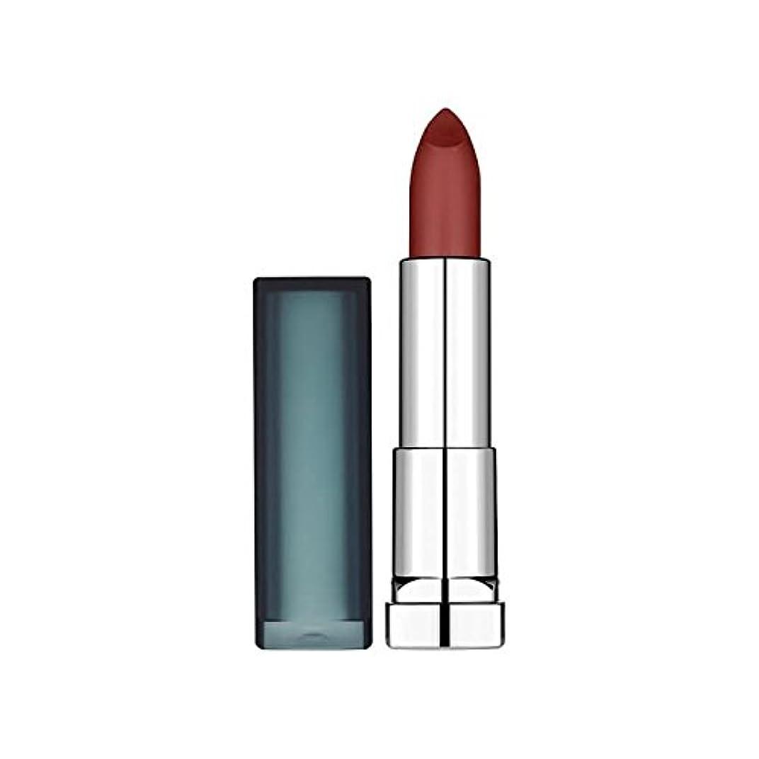 トレード鳩ハッチMaybelline Color Sensational Matte Lipstick 975 Divine Wine (Pack of 6) - メイベリンカラーセンセーショナルなマット口紅975神のワイン x6 [並行輸入品]