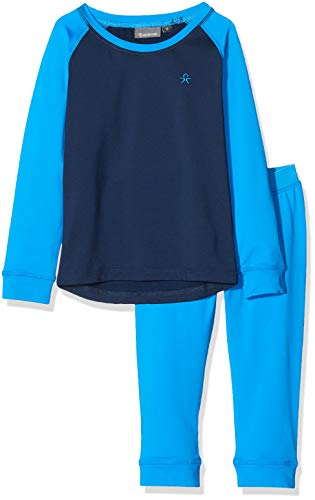 Color Kids Ski Termo Unterwäsche Intimo, Blu (Estate Blue 188/1), 104 Bambino