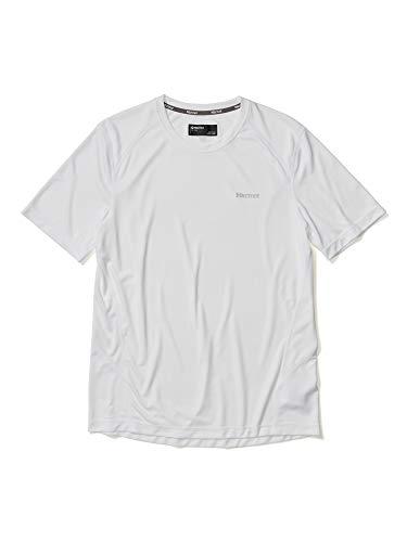 Marmot Windridge SS T-Shirt Manche Courte, Chemise de randonnée, idéal pour Le Sport, la Gym, séchage Rapide, Respirant Homme, White, FR : 2XL (Taille Fabricant : XXL)
