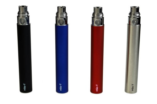 ego-T Standard Electronic Cigarette Battery 1100mAh in Silver, [Importado de Reino Unido]