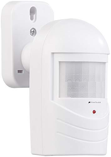 VisorTech Alarmattrappe: Bewegungsmelder-Attrappe zur Einbrecher-Abschreckung, blinkende LED (Einbruchsschutz)
