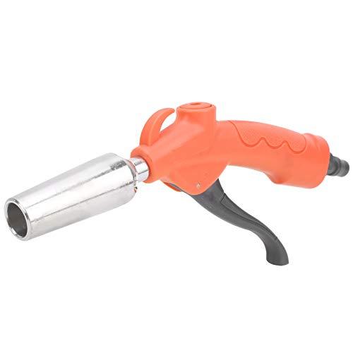 Pistola de soplado para polvo, duradera y resistente a la oxidación Herramienta de soplado para quitar el polvo La boquilla de alta estanqueidad al aire ABS se puede reemplazar para limpiar