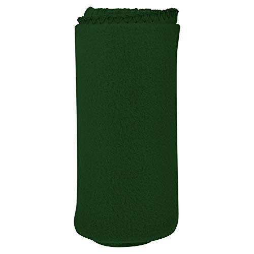 I Love This Value Imperial 50 x 60 Inch Ultra Soft Fleece Throw Blanket - Dark Green