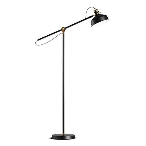 L-YINGZON Diseñador Lámpara de pie de Hierro de pie Lámpara de la Pesca Iluminación de Interior Lámpara de pie Moderna Lámpara de Lectura Lámpara de pie - Interruptor de Pedal Lámparas de iluminación
