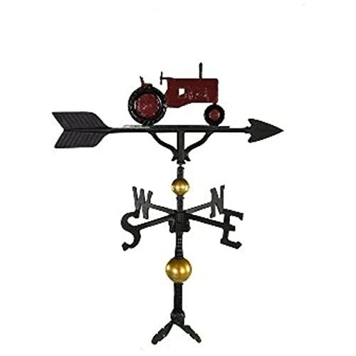 Montague Metal Products Wetterfahne mit rotem Traktor, 81,3 cm