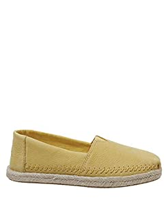 TOMS Women's Alpargata Espadrille, Size: 5.5 B(M) US, Color: Electric Yellow Nubuck (B07GH38D8P) | Amazon price tracker / tracking, Amazon price history charts, Amazon price watches, Amazon price drop alerts