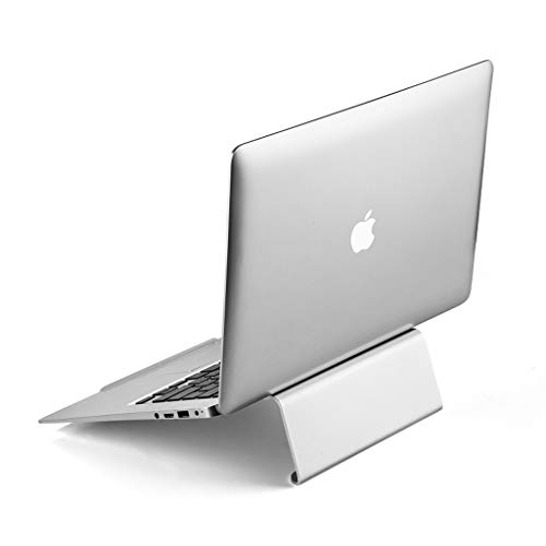 YBYB Laptop Stand Laptop Stand Holder Aluminum Computer Holder Cooling Laptop Riser Portable Stand For Apple Macbook/all Notebook11-15.6' Notebook Stand (Color : Silver)