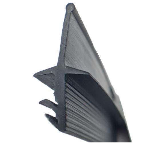 Roto kompatible Dachfenster Dichtung I 5m I Farbe Schwarz ► Dichtung Fenster ► Dachflächenfensterdichtung ► Ersatzdichtung ► Gummidichtung ► Langlebig und wartungsfrei
