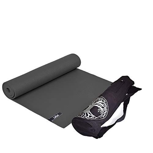 OLIVER Lotau - Esterilla de yoga (con bolsa de transporte)
