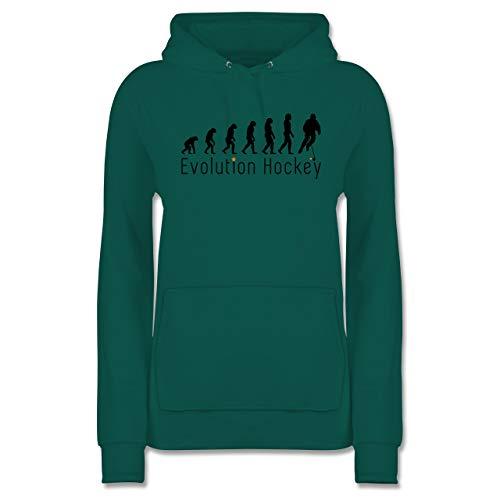 Evolution - Evolution Hockey - L - Türkis - JH001F - Damen Hoodie und Kapuzenpullover für Frauen