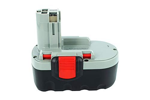 18 V 2000 mAh PowerSmart NiCd batería para Bosch GSB 18VE -2, GSB 18 VE2, GSR 18VE -2, GSR 18 VE2, GHO 18 V, GKS 18 V, GSA 18 V, GST 18 V, O-PACK 18 V, PSR 18VE -2, GHO 18 V, GLI 18 V, PSB 18VE2, PSR 18VE2, GDS 18 V-HAT, GSR 18 VE-2