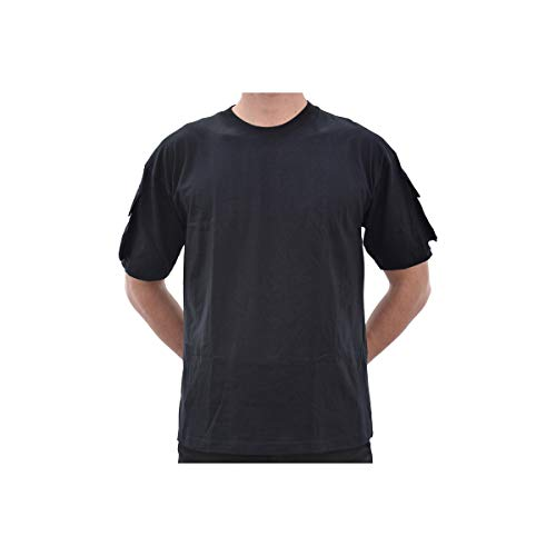 Tee-shirt tactique noir - Miltec - Noir - 2XL