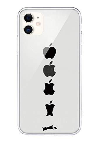 Emlivi Funda para iPhone SE 2020, iPhone SE 2020, funda de una sola pieza, transparente, funda para teléfono móvil para Apple iPhone SE 2020 (4,7 pulgadas), diseño de manzana
