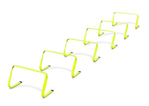 HAEST Flexible Koordinationshürden - 6 Stück - 22 cm