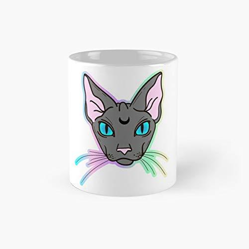 Pastel Goth Lunar Sphinx Classic Mug Best Gift Funny Coffee Mugs 11 Oz