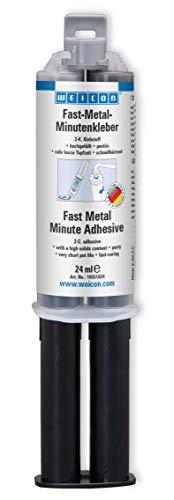 Weicon 10551024 Minutenkleber Fast Metal, 24 ml
