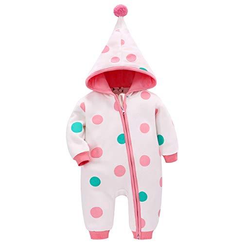 Bebone Baby Kleidung Jungen Mädchen Strampler Neugeborenen Overall (Rosa 2, 0-3Monate/52)