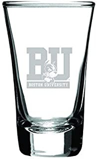 boston university shot glass