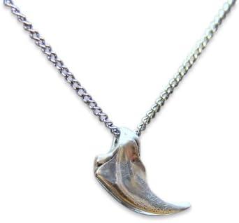 Moon Superlatite Raven Designs Little Bear Bargain sale Claw Necklace S Bronze Pendant -