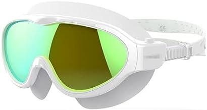 Zwembril, professionele zwembril, anti-fogging verstelbare bril met groot frame, volwassenen en tieners