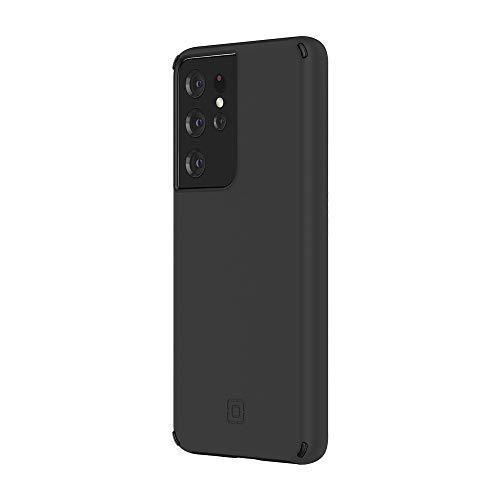 Incipio Duo Hülle für Samsung Galaxy S21 Ultra 5G (schwarz) von Samsung Zertifiziert [3,5m sturzfest I Qi kompatibles Cover I Extrem robuste Handyhülle I Stoßabsorbierendes Hülle I Hybrid]