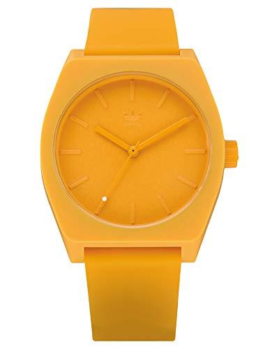 Adidas Unisex Analog Quarz Uhr mit Silikon Armband Z10-2903-00