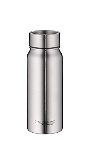 THERMOcafé by THERMOS TC Mug Thermobecher, Edelstahl mattiert, 0,5 l