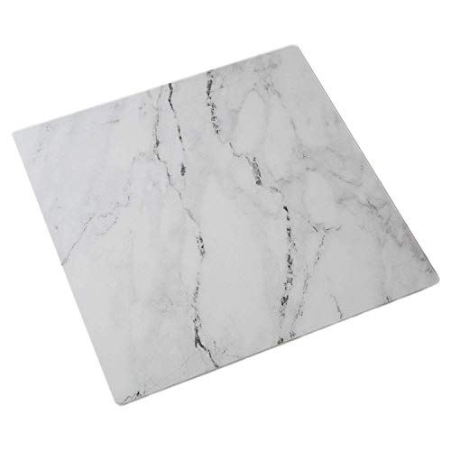 Bessie Bakes 20-inch x 20-inch Marble Replicated Photography Backdrop 3 mm Thick Physical Board, Lightweight, Moisture & Stain-Resistant