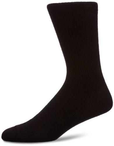 HJ Hall Extra breite Herren-Socken HJ190, Softop Gr. Large, schwarz