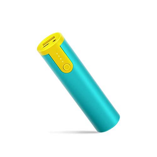 Powerbank Mini 5000mAh Cargador Portátil Batería Externa para Teléfonos Inteligentes, Tabletas (con Cable / conLinterna)