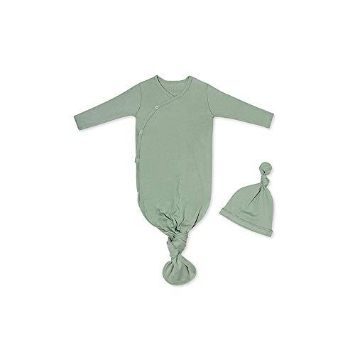 SNAP THE MOMENT Babyschlafsack zum Binden und Mütze Olive Dream
