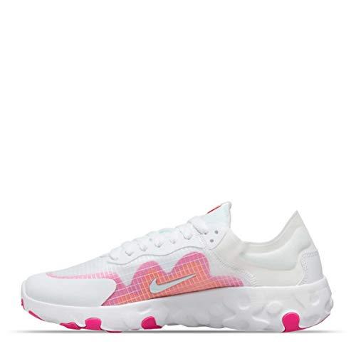Nike Wmns Renew Lucent, Scarpe da Corsa Donna, White White Team Orange Fire Pink, 40 EU