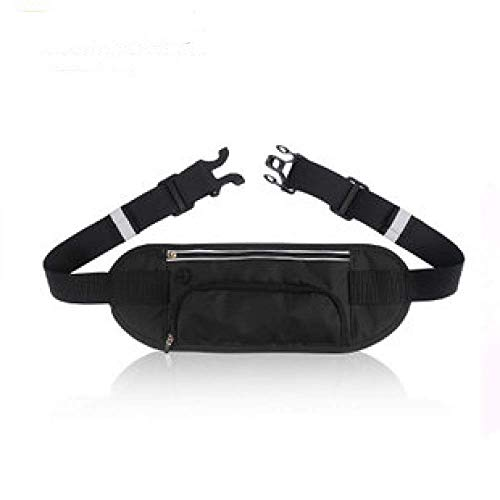 Bolsillos invisibles para teléfonos móviles para viajes al aire libre, bolsillos para pasaportes, deportes multifuncionales para correr, bolsillos personales, ultrafinos y ajustables a prueba de sudor