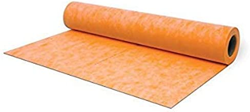 Waterproof Membrane 3.3 ft x 33 ft / 108 square feet / 8 mil Thick- Waterproofing Fabric For Showers, Bathroom, Sauna, Steam Room