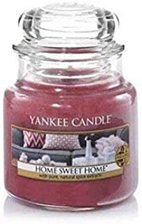 Yankee Candle Small Jar Candle, Home Sweet Home