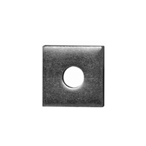 Thomas & Betts ZAB2411/2-10 Super strut 200 Series Square Conduit Washer, 1/2 In, 304 Stainless Steel, Galvanized