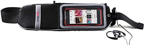 Navitech Noir résistant à leau ceinture et bandoulière sport pour Asus Zenfone 6 A600CG