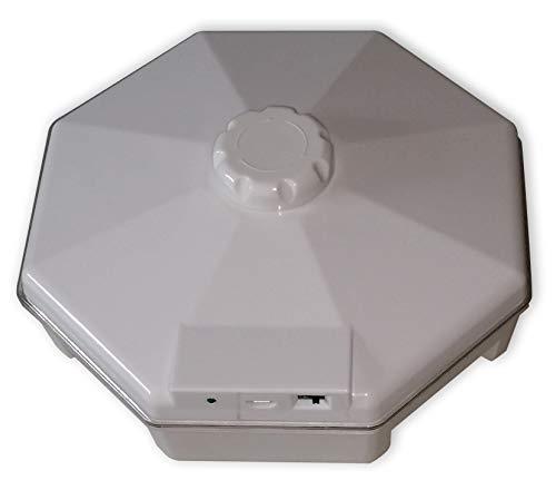 ISOTRONIC Insekten-Falle elektrisch, Ungeziefer-Köder für Silberfische, Schaben, Kakerlaken und Kellerasseln, 1er-Pack