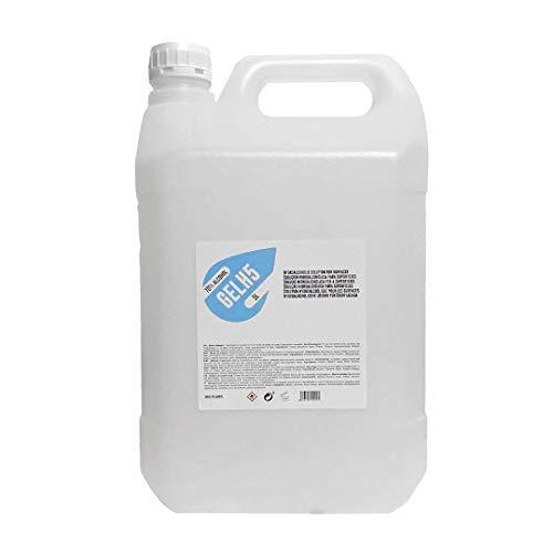 GELH5 - Gel hidroalcohólico 5 litros 70% Alcohol. No pegajoso, aroma colonia infantil