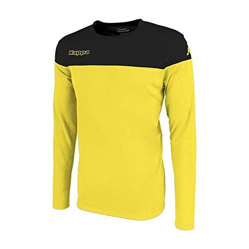 Kappa MARETO LS Camiseta de equipación, Hombre, Amarillo/Negro, XL