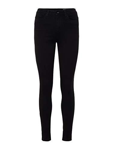 VERO MODA Damen Skinny Fit Jeans VMSOPHIA High Waist S30Black