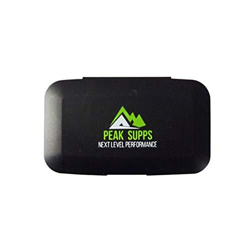 Peak Supps Pillbox - 5 Compartments