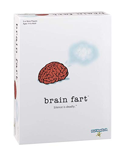PlayMonster Brain Fart - The Party Game Where Silence is Deadly!