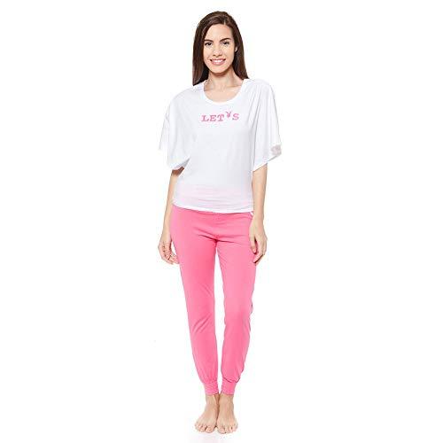 Haut M L XL pyjama Lounge Femmes Playboy Nightwear Yogahose