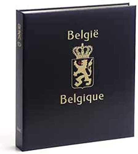 DAVO 2233 Luxus Briefmarken-Album Belgien Geschenkkarten 1999