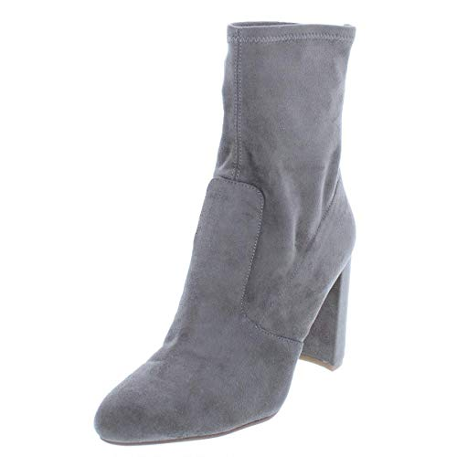 Ivanka Trump Womens Sayida Suede Closed Toe Ankle Fashion, Beige, Size 11.0