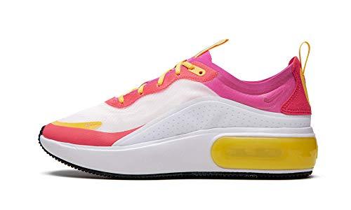 Nike W Air MAX Dia Se, Zapatillas de Atletismo para Mujer, Multicolor (White/Laser Fuchsia/Ember Glow 000), 40 EU